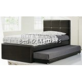BD343 Upholstered Divan Single Bed
