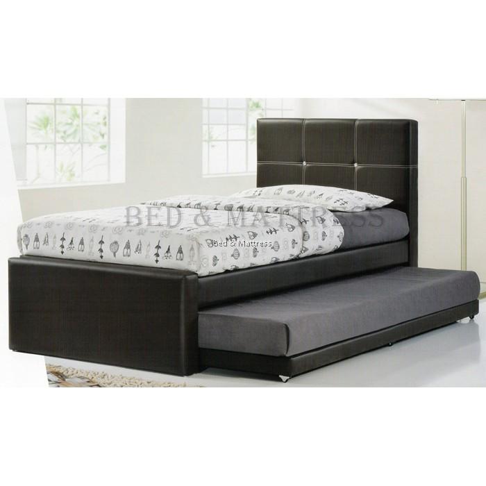 Bd343 Upholstered Divan Single Bed