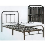 3V SG900FSB Metal Single Foldable Bed