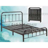 3V SG905FSB Metal Queen Foldable Bed