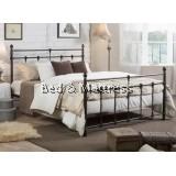 Merlina Metal Queen Bed