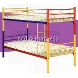 5883 Metal Bunk Bed