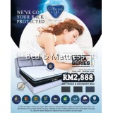 MasterCoil Libra Divan and Mattress Queen Size Set