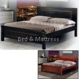 285 Wooden Queen Bed