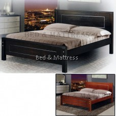 285 Wooden Queen Bed