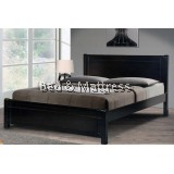 AN200 Wooden Queen Bed