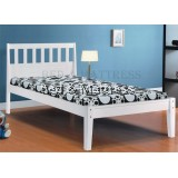 AN711 Wooden Single Bed