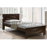 6230W Wooden Single Bed