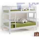 ATN203/303WH-DD Wooden Bunk Bed