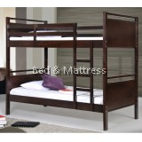 Cecelia Wooden Single Bunk Bed