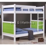 Lowe Wooden Single Bunk Bed