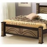 ATN8502WG Wooden Queen Bed