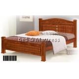 ATN8504 Wooden Queen Bed