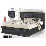 ATN8507 Wooden Queen Bed