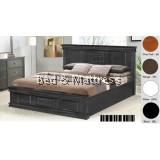 ATN8508 Wooden Queen Bed