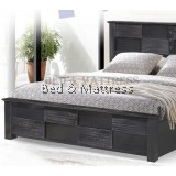 ATN8511 Wooden Queen Bed