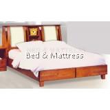 ATN8514 Wooden Queen Bed
