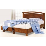 ATN8513 Wooden Queen Bed with Drawers