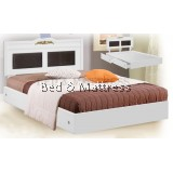 ATN8516 Wooden Queen Bed with Drawers
