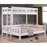 Jasmine Wooden Twin/Full Bunk Bed