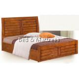 ATN8521 Wooden Queen Bed