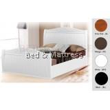 ATN8525 Wooden Queen Bed