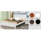 ATN8531 Wooden Queen Bed