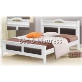 ATN8534 Wooden Queen Bed