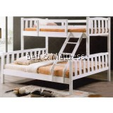 Clara Wooden Twin/Full Bunk Bed