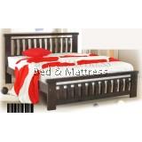 ATN8550 Wooden Queen Bed