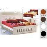 ATN8555 Wooden Queen Bed