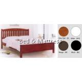 ATN8588 Wooden Queen Bed