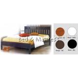 ATN8591 Wooden Queen Bed