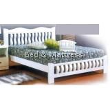 ATN8596 Wooden Queen Bed