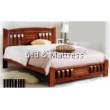 ATN9521 Wooden Queen Bed