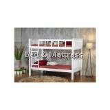 Eldore Wooden Super Single Bunk Bed