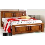 ATN9530 Wooden Queen Bed