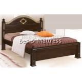 ATN9544WG Wooden Queen Bed