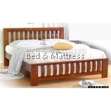ATN9550 Wooden Queen Bed
