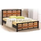 ATN8566 2D Wooden Queen Bed