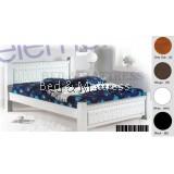 ATN757 Wooden Queen Bed