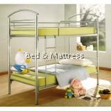 Cresent Metal Single  Bunk Bed