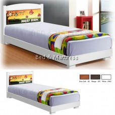 ATN210 Wooden Single Bed