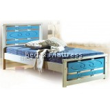 ATN726 Wooden Single Bed