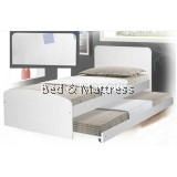 ATN8249 Wooden Single Bed