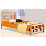 ATN8234N Wooden Single Bed