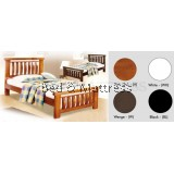 ATN8250 Wooden Single Bed
