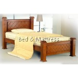 ATN9211 Wooden Single Bed