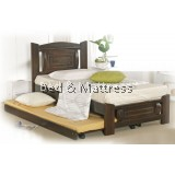 ATN9221 Wooden Single Bed with Trundle