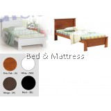 ATN9254 Wooden Single Bed